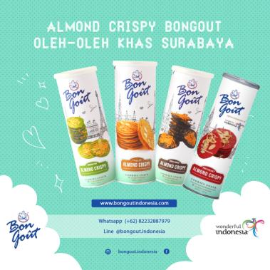 Almond Crispy Cheese Bon Gout Terfavorit Di Surabaya About